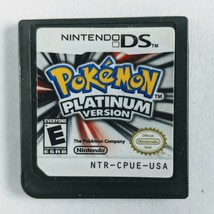Pokemon -- Platinum Version (Nintendo DS, 2009) Game Cart Only *Authentic*  - $37.25