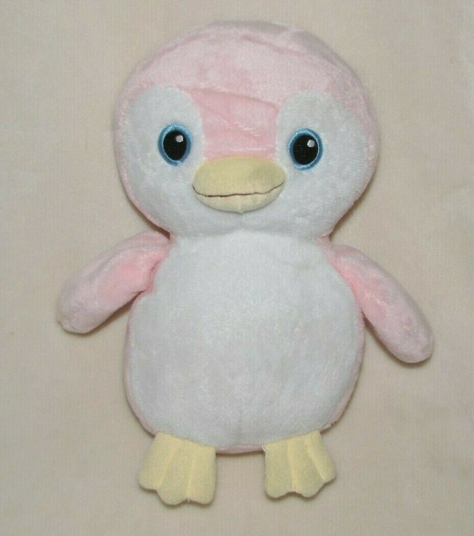 "Primary image for Ty Pluffies Pammy Penguin Plush Pink White 9"" Soft Toy Stuffed Animal TyLux"
