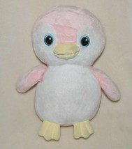 "Ty Pluffies Pammy Penguin Plush Pink White 9"" Soft Toy Stuffed Animal TyLux - $26.42"