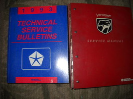 1993 Dodge Viper Coupe Roadster Service Shop Repair Manual SET W TECH BU... - $178.15