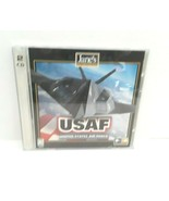 Jane's Combat Simulations USAF United States Air Force PC CD Game  - $23.36
