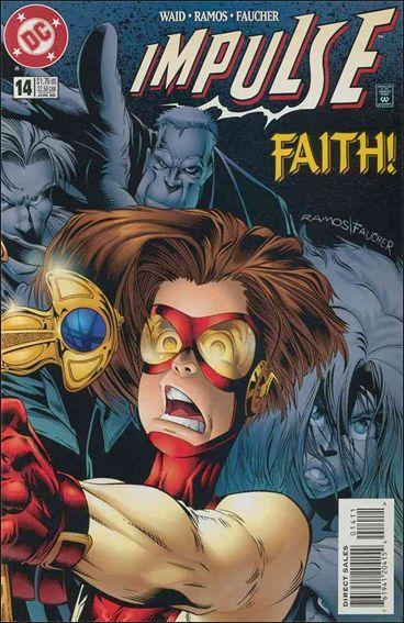 DC IMPULSE (1995 Series) #14 VF