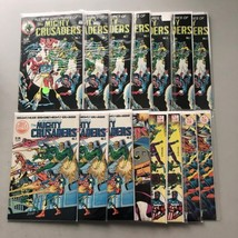 Lot of 15 Mighty Crusaders (1983 Red Circle/Archie) #1-5 FN Fine - $23.76
