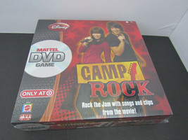CAMP ROCK DVD GAME ~ SEALED BRAND NEW - $5.93