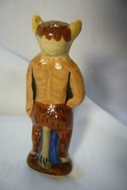 Vaillancourt Folk Art, Tiny Santa in Krampus costume Halloween  signed by Judi image 2