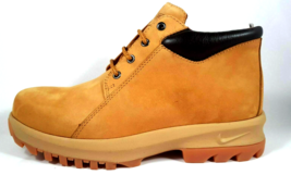 NIB Nike Air Peruvian Mid B ACG Men's Boots Leather Wheat Outdoor 648053... - $79.99