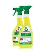 Frosch Natural Lemon Shower & Bathroom Cleaner Spray Bottle, 500ml Pack ... - $15.09