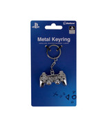 Sony PlayStation Image Shiny Chrome 3D Metal Key Chain Key Ring NEW UNUSED - $9.74