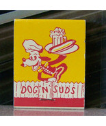 Vintage Matchbook Z5 New York Iconic Dog N Suds Famous Hot Dog Root Beer... - $53.99