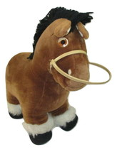 "Vintage Cabbage Patch Kids Plush Horse 1984 Show Pony 15"" Brown - $14.84"