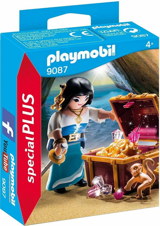 Playmobil Pirate with Treasure Building Set - $17.81