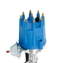 Pro Series R2R Distributor for Ford 351W Windsor, V8 Engine Blue Cap image 2