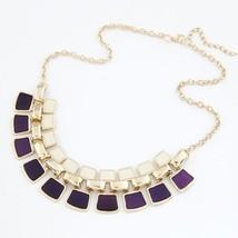 Collier Femme Statement Necklaces & Pendants Vintage 2019 Choker Maxi Co... - $9.39