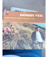 Bobby Vee Come Back When You Grow Up Vinyl LP Orig Release- Orig Owner - $11.43