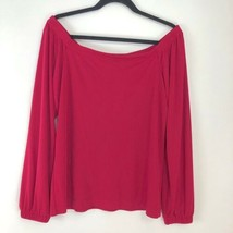 White House Black market Off-The-Shoulder Crepe Top - Size M - $24.24