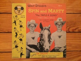 Spin & Marty - The Triple-R Song DBR-58 78 RPM 1955 - $3.00