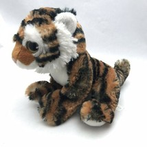"Wishpets 2012 TIGER Plush Stuffed Animal  9"" long EUC - $15.63"