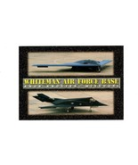PICTURE POSTCARD-WHITEMAN AIR FORCE BASE - KNOB KNOSTER, MISSOURI  BK6 - $3.96