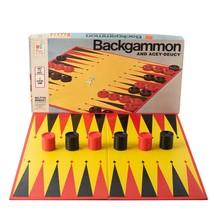 Vintage Milton Bradley Backgammon and Acey-Deucy 4319 Board Game 1973 - $14.25