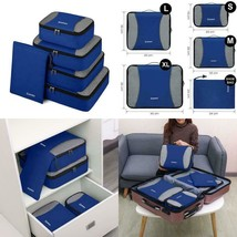 Gonex Packing Cubes Rip-Stop Nylon Travel Organizers Packing Bags Set Of... - $638,60 MXN
