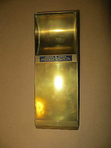 EVER-READY MEMO PAD,BRASS,ADVERTISING,MEIGS&COPE,WI.GENERAL AGENTS - $31.93