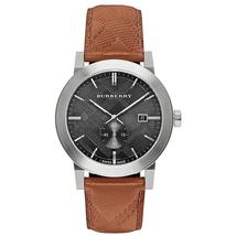 Burberry BU9905 The City Seconds Subdial H Check Black Dial 42mm - $399.00
