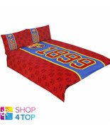 FC BARCELONA DOUBLE DUVET SET 1899 RED COVER PILLOW CASE FOOTBALL SOCCER... - $55.63