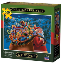 CHRISTMAS DELIVERY - Traditional Puzzle - 500 Pieces