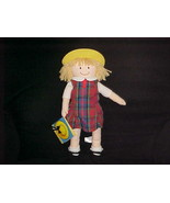 """17"""" Nicole Dressable Ragdoll Plush Doll With Tags Madeline 2002 Learning... - $93.49"""