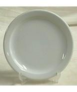 Rego Restaurant Ware White Bread & Butter Plate Stoneware Vintage Dinner... - $14.84