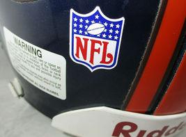 TERRELL DAVIS / AUTOGRAPHED DENVER BRONCOS NFL PRO LINE FOOTBALL HELMET / COA image 8