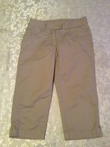 Girls-Size 7-George capri pants-uniform-khaki shorts - $9.95