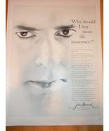 Vintage John Hancock Insurance Magazine Advertisement 1960 - $5.99