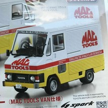 Hachette VOL.17 Spark 1:43 Toyota Hiace Quick Delivery Mac Tool VAN Ver. - $82.13