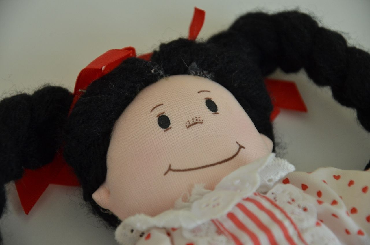 """Vintage Cloth Pirouette Doll Collection Named Punkin Head 10"""" Tall NWT Applause"""