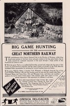 Great Northern Railway Montana Game Hunting Hudson River Day Line 1911 P... - $7.99