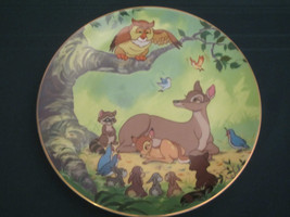 THE NEW PRINCE IS BORN Collector Plate DISNEY'S BAMBI Disney 1st Edn. Co... - $28.98