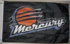 Phoenix Mercury WNBA 3'x5' black Flag Diana Taurasi Brittney Griner USA ... - $25.00