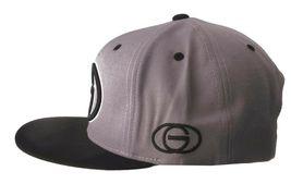 Gold Wheels Skateboarding Silver Grey Black Classic Logo Snapback Baseball Hat image 5