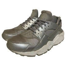 Nike Womens Air Huarache Run SE Shoes Metallic 859429-002 Lace Up Mid To... - $49.49