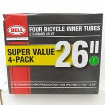 "Bell 26"" Bicycle Inner Tubes (4-Pack) Standard Valve - Widths 1.75""- 2.25"" - $10.88"