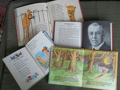 4 Books Fuzzy Wuzzy Scary Harry Presidents to FDR Prayers  For Little Children