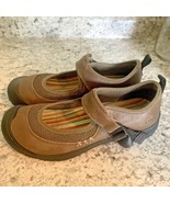 KEEN PRISIDIO MARY JANE BROWN MOCHA womens sandals 6.5 - $36.58