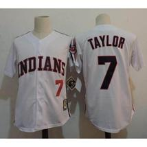 Jake Taylor #7 White Cleveland Indians Major League Movie Jersey - $37.99