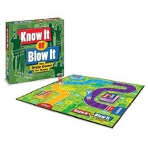 FAMILY BOARD GAMES! - KNOW IT OR BLOW IT, TRIVIA GAME - NEW - $15.15