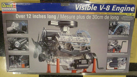 Revell Monogram Visible V-8 1:4 Scale Plastic Transparent Engine Model K... - $58.75