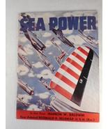 Vintage Sea Power Magazine March 1942 WW2 United States Navy - $19.75