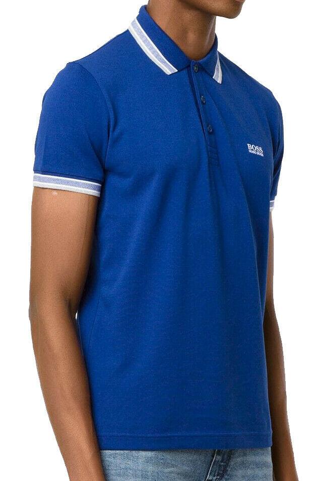 Hugo Boss Men's Premium Cotton Green Tag Sport Polo Shirt T-Shirt Paddy image 2