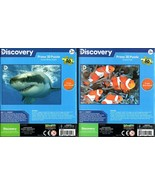 Discovery -  Prime 3D 50 Pieces Jigsaw Puzzle (Set of 2) v4 - $15.83