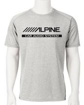 Alpine Car Audio Dri Fit graphic T shirt moisture wick SPF active wear Sun Shirt image 1